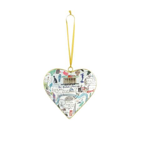 British Museum heart tin