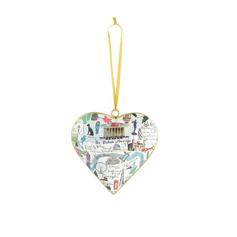 British Museum heart tin