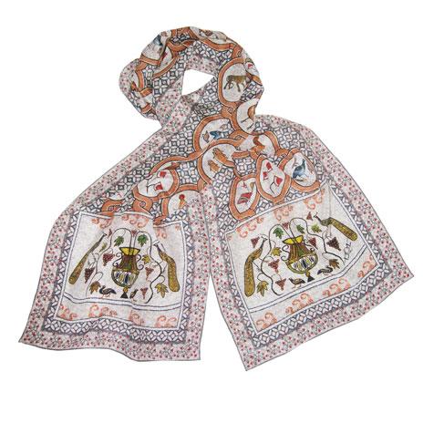 Butrint mosaics scarf