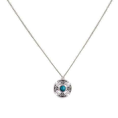 Celtic Nevern Cross necklace