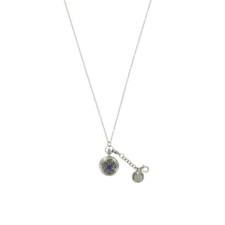 Celtic knot watch necklace