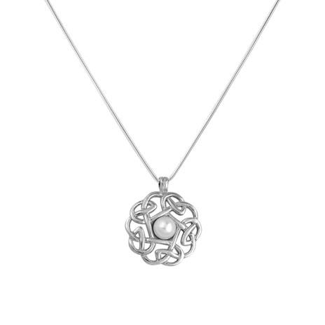 Pearl Pentagon necklace