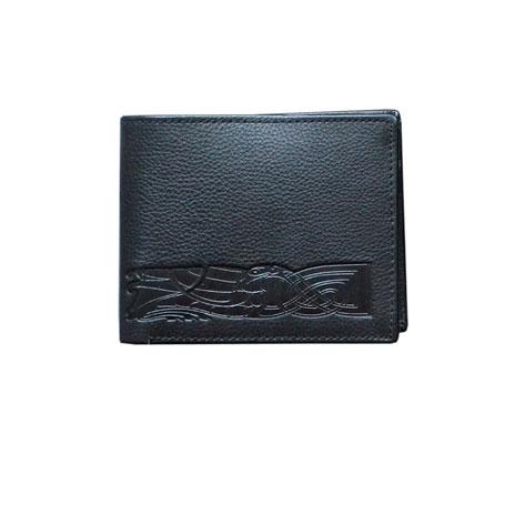 Celtic leather wallet