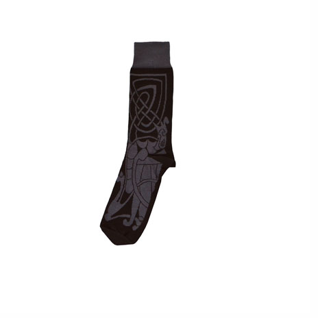 Celtic socks (black and grey)