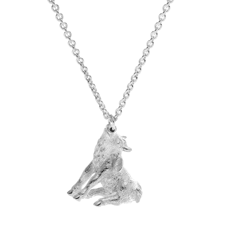 Chinese zodiac pendant necklace (ox)
