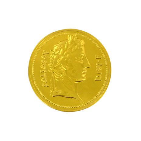 Chocolate Roman coin
