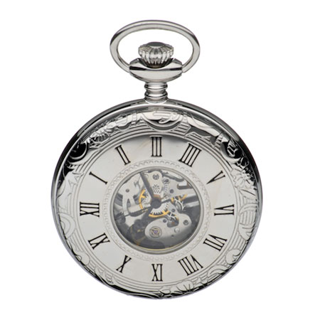 Half Hunter pocket watch