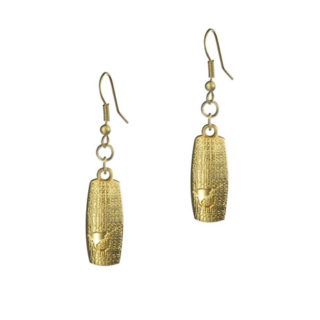 Cyrus Cylinder earrings