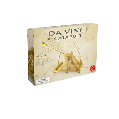 Da Vinci catapult kit
