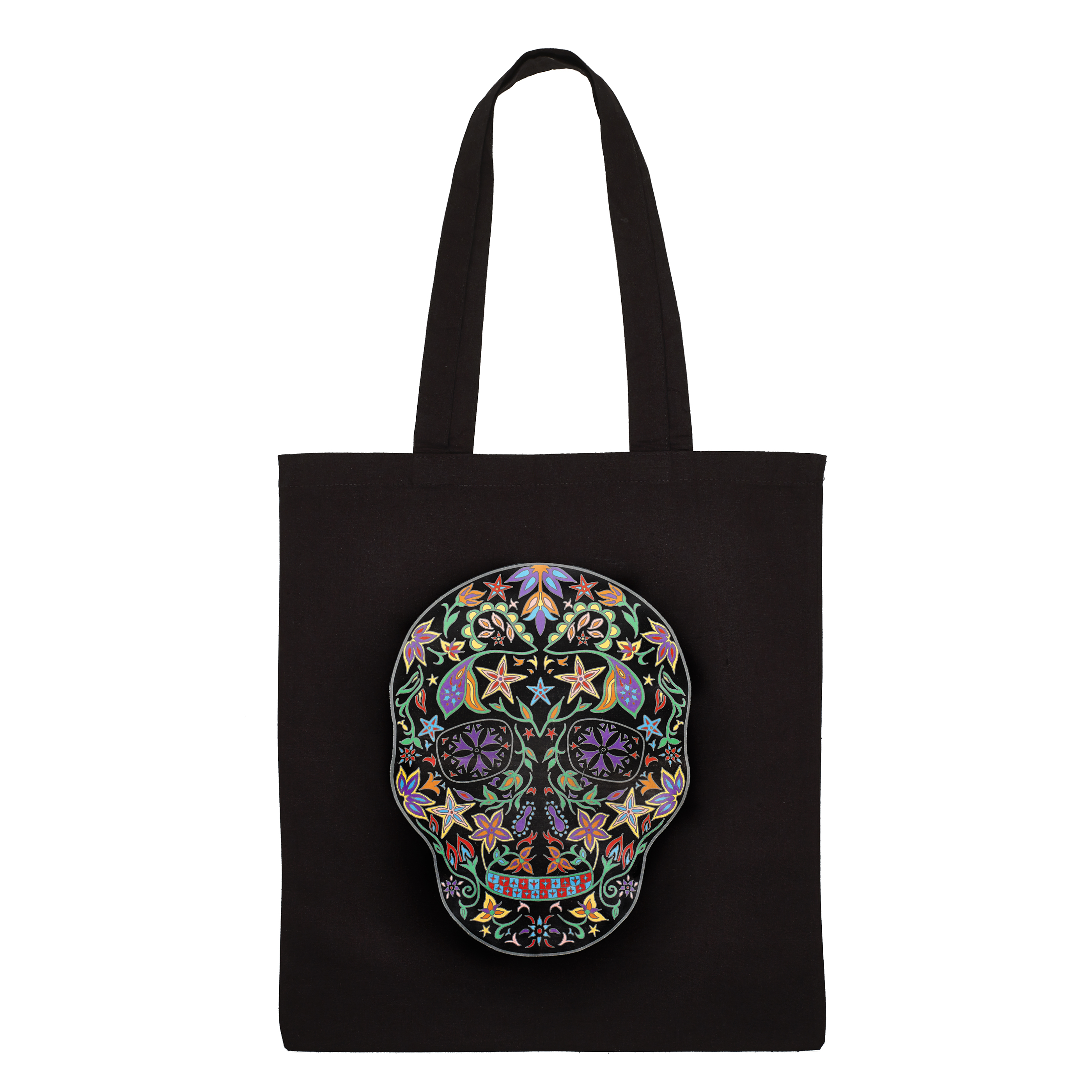 Day of the dead totebag