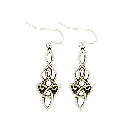 Celtic Dragon earrings