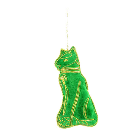 Egyptian Cat hanging decoration