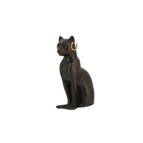 Egyptian Cat small bronze replica