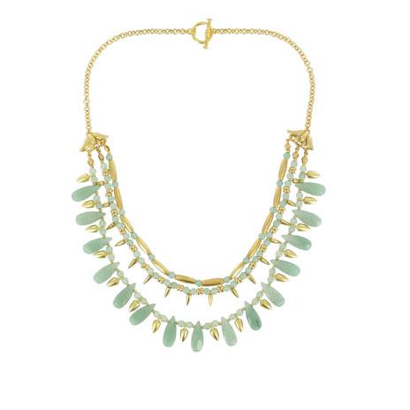 Egyptian lotus warrior necklace
