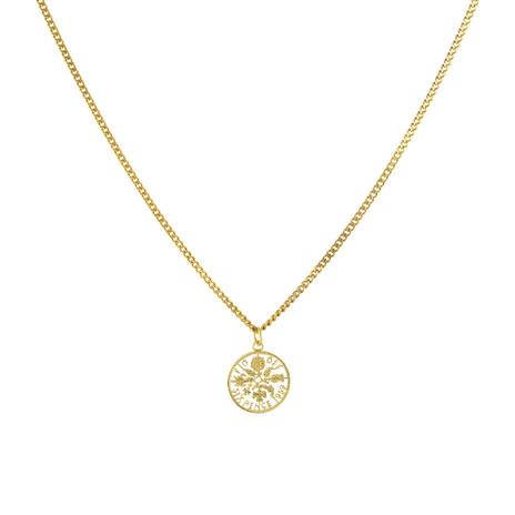 Elizabeth II Sixpence necklace