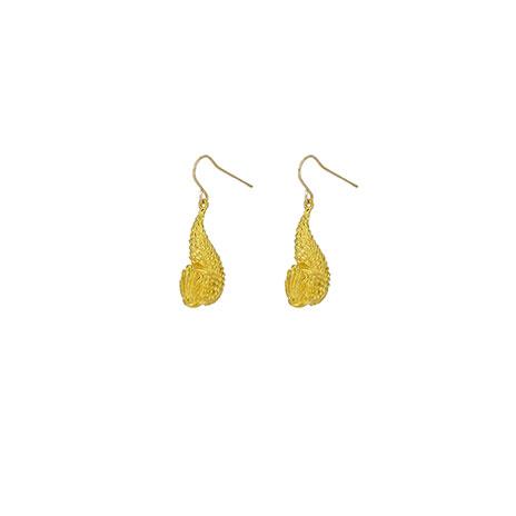 Etruscan dolphin earrings (gold)