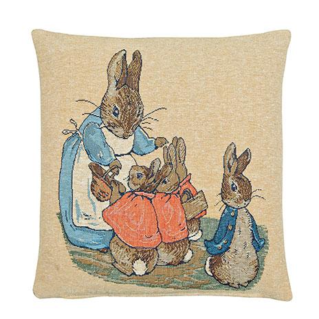 Flopsy Bunnies cushion cover