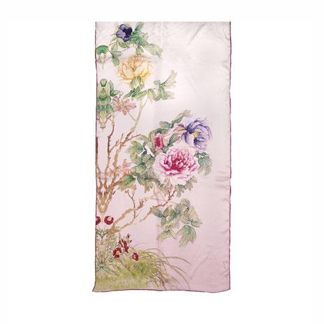 Floral scarf (pink)