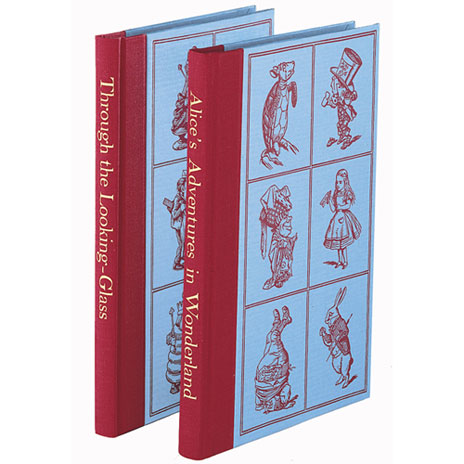 Folio Society: Alice's Adventures in Wonderland and Through the Looking-Glass