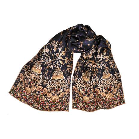 Chameria silk scarf