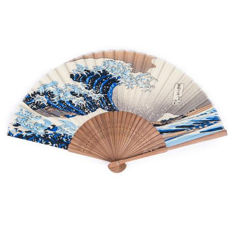 Fuji Wave folding fan