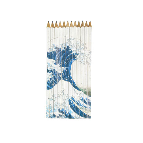 Fuji Wave pencil set