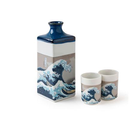 Fuji Wave sake set