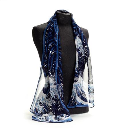 Fuji Wave scarf