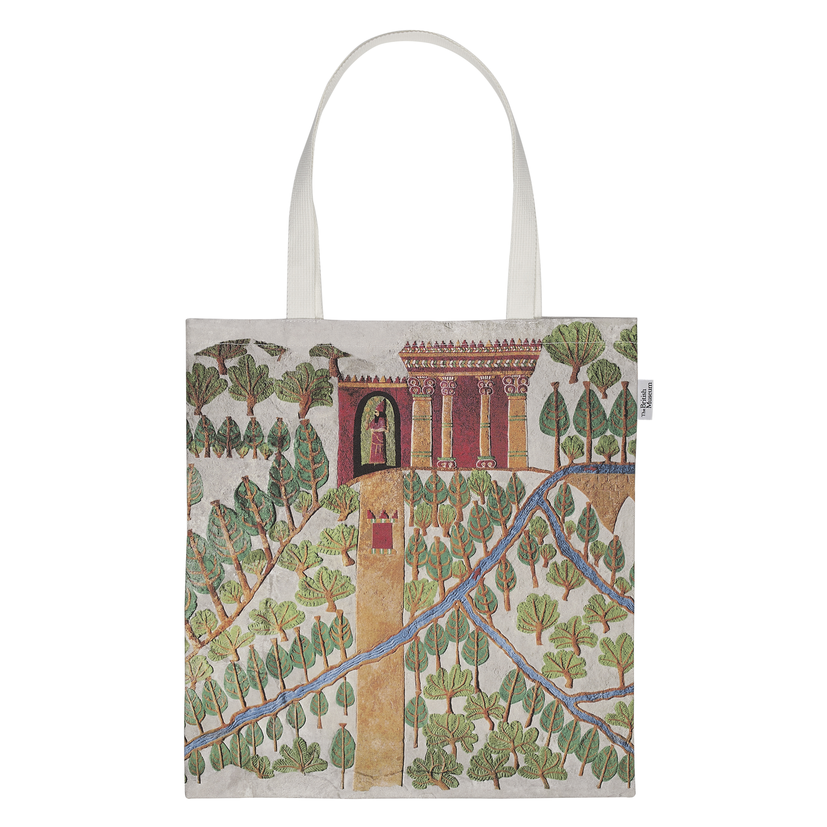 The Gardens of Nineveh totebag