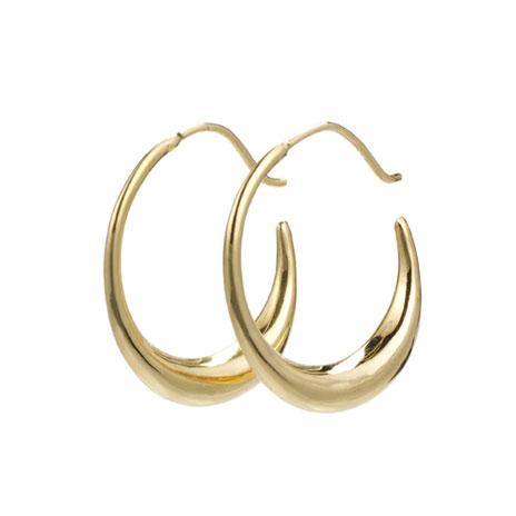 Parthian hoop earrings (gold)