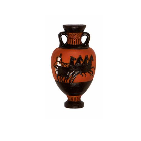 Greek Vase Magnet Chariot