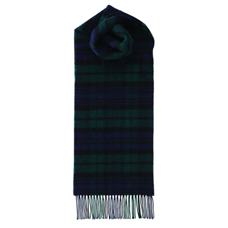 Tartan scarf (green)