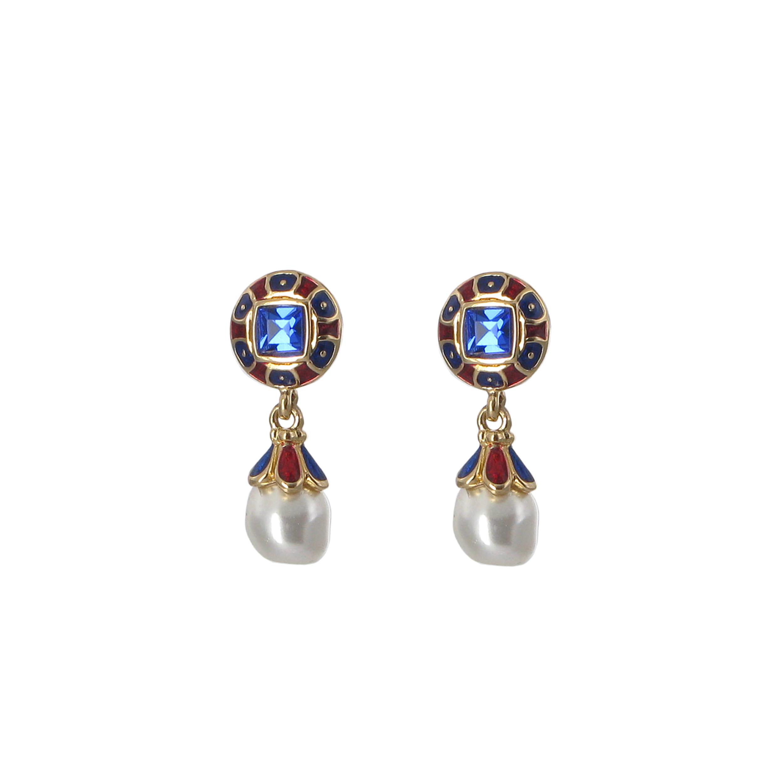 Grenville drop earrings