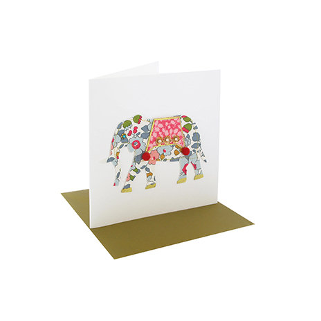 Grey elephant card