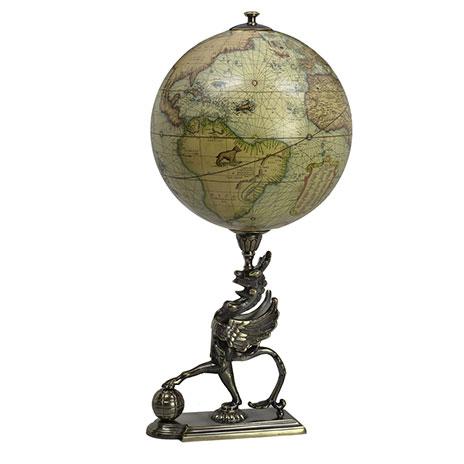 Griffin stand globe