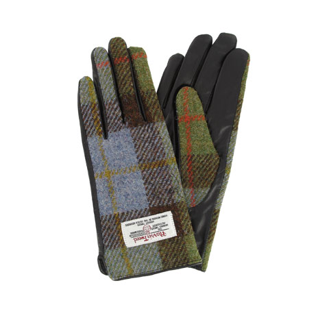 Harris Tweed ladies gloves (small)