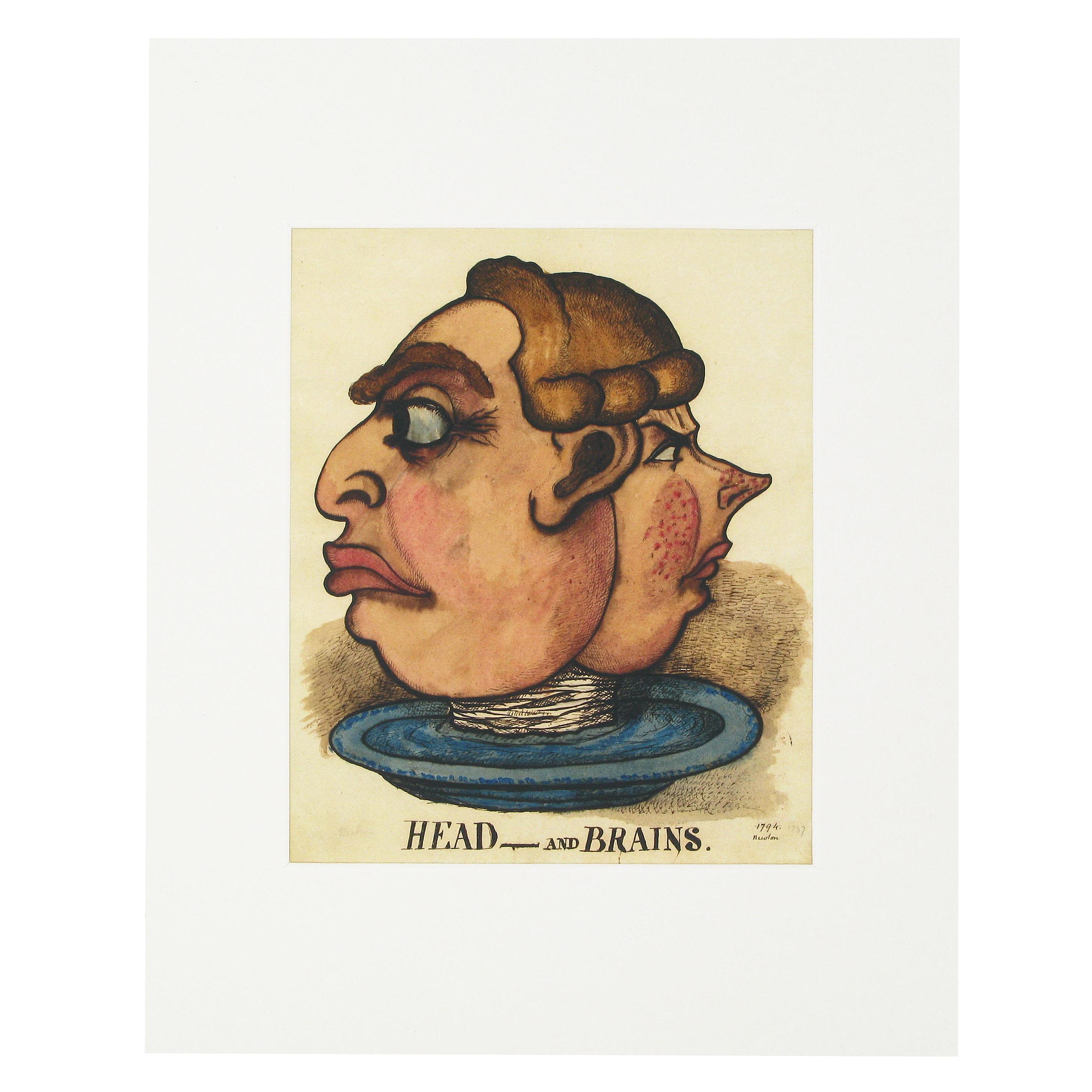 Head and Brains print