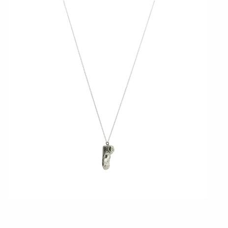 Hermes sandal necklace