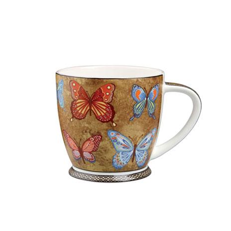 Indian botanical mug