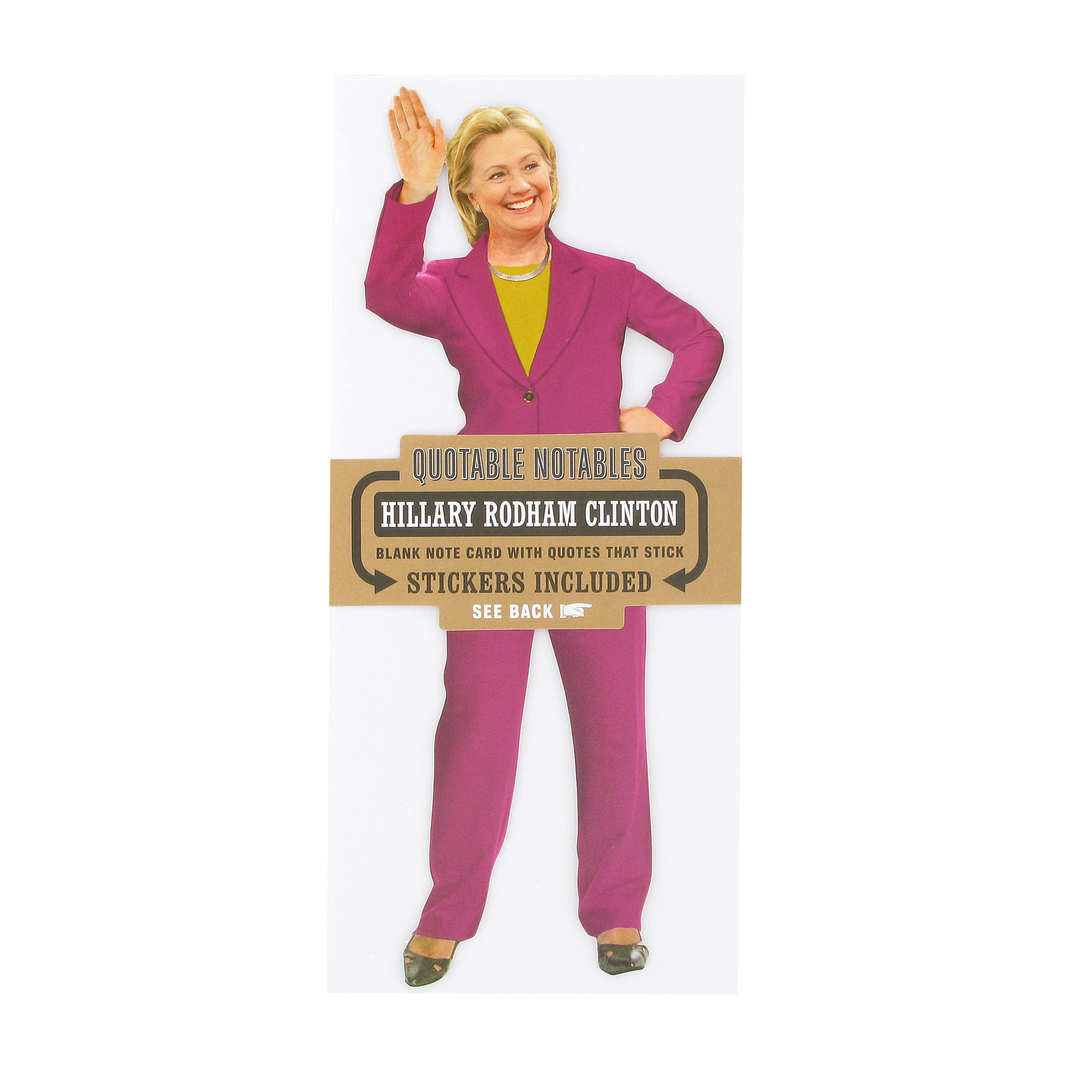 Hillary Clinton quotes card