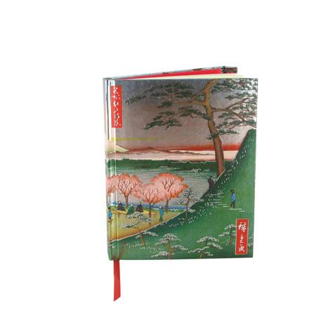 Hiroshige Fuji notebook