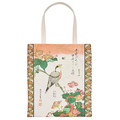 Hokusai, Birds and Flowers tote bag