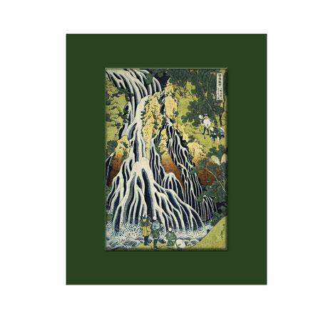 Hokusai, The Kirifuri Waterfall (mounted print)