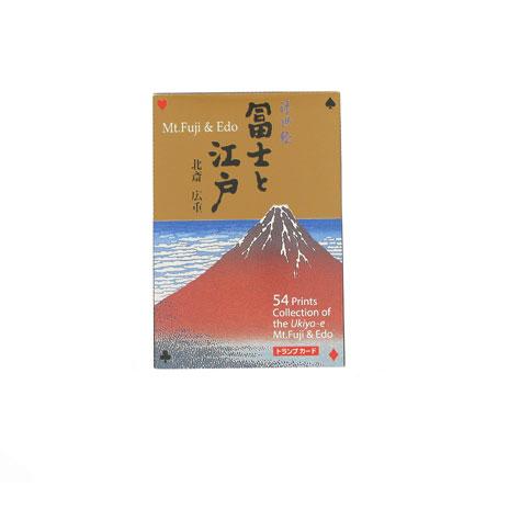 Hokusai playing cards
