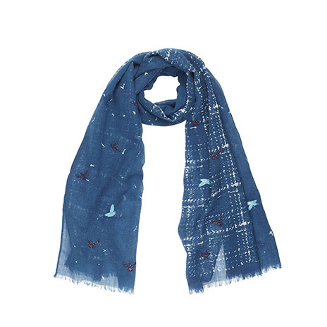 Holda scarf (jeans/blue)
