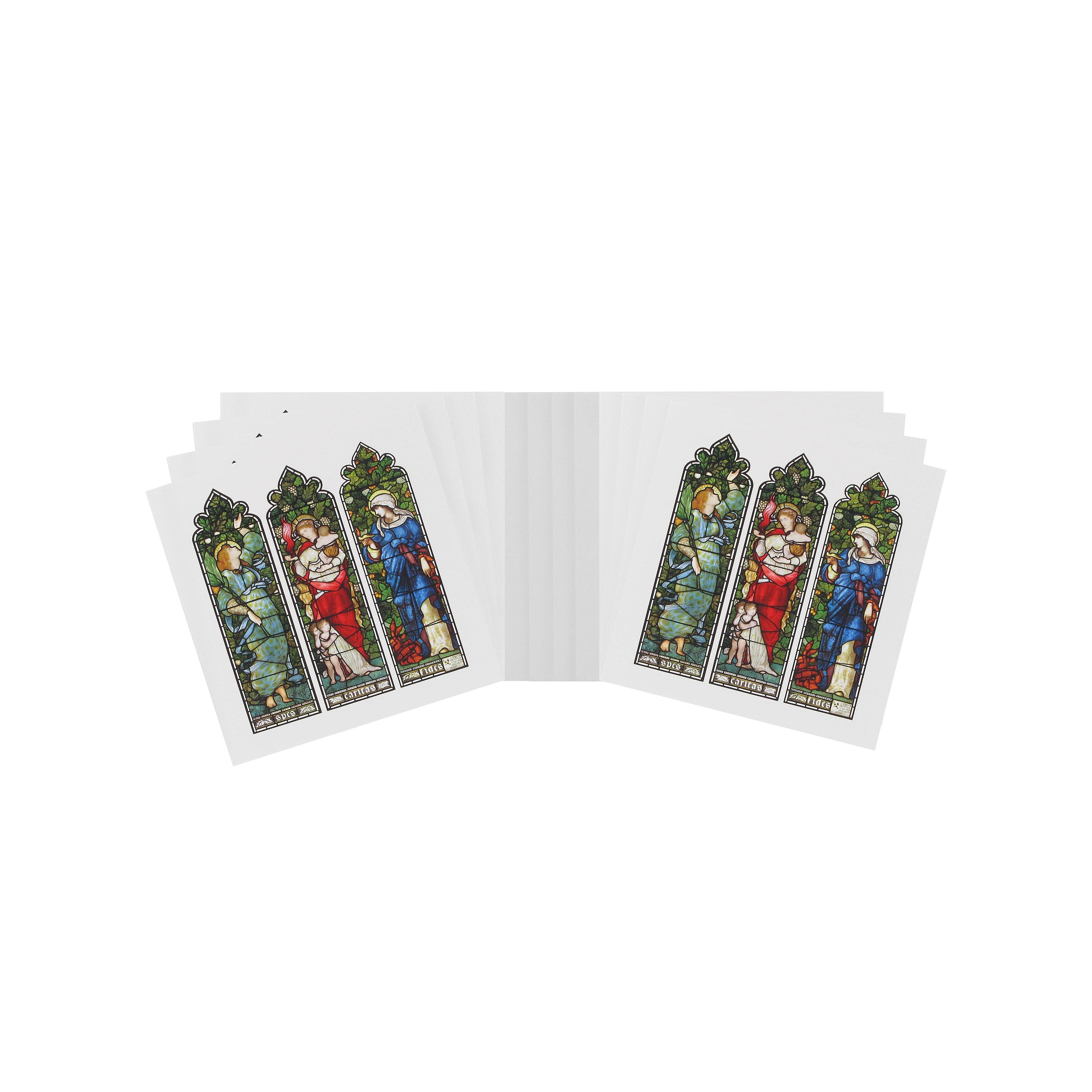 Hope, Faith and Charity Christmas cards