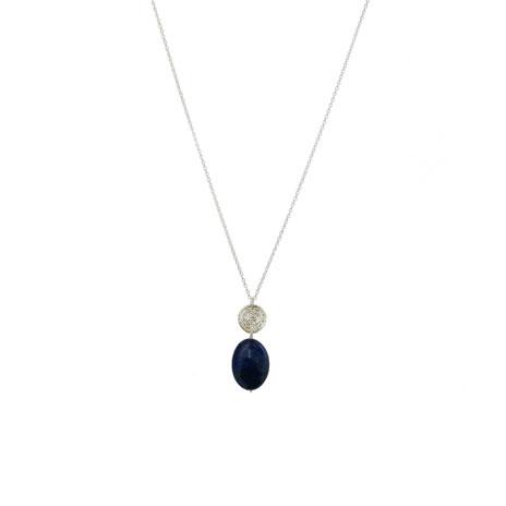 Hope lapis pendant necklace