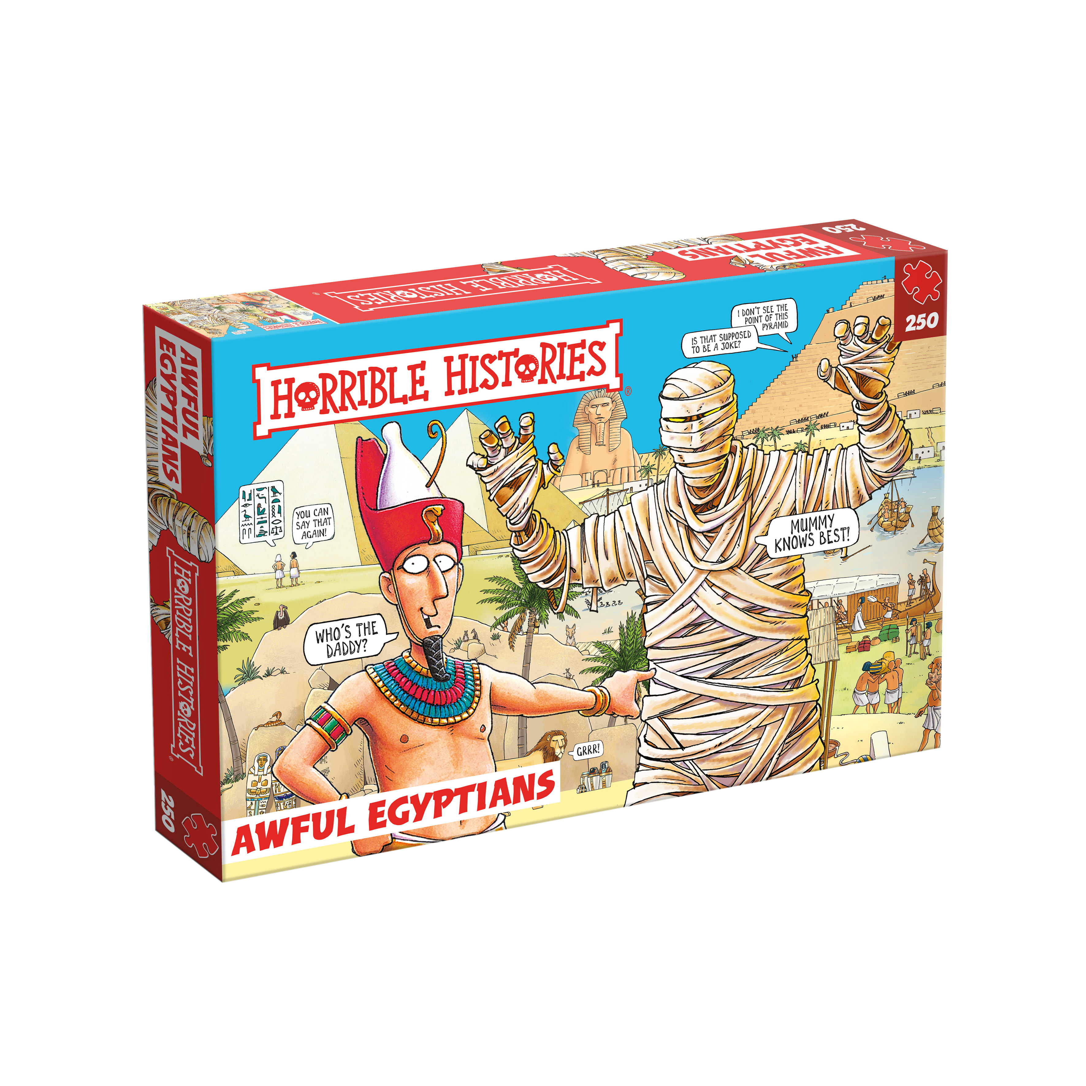 Horrible histories jigsaw puzzle (awful Egyptians)