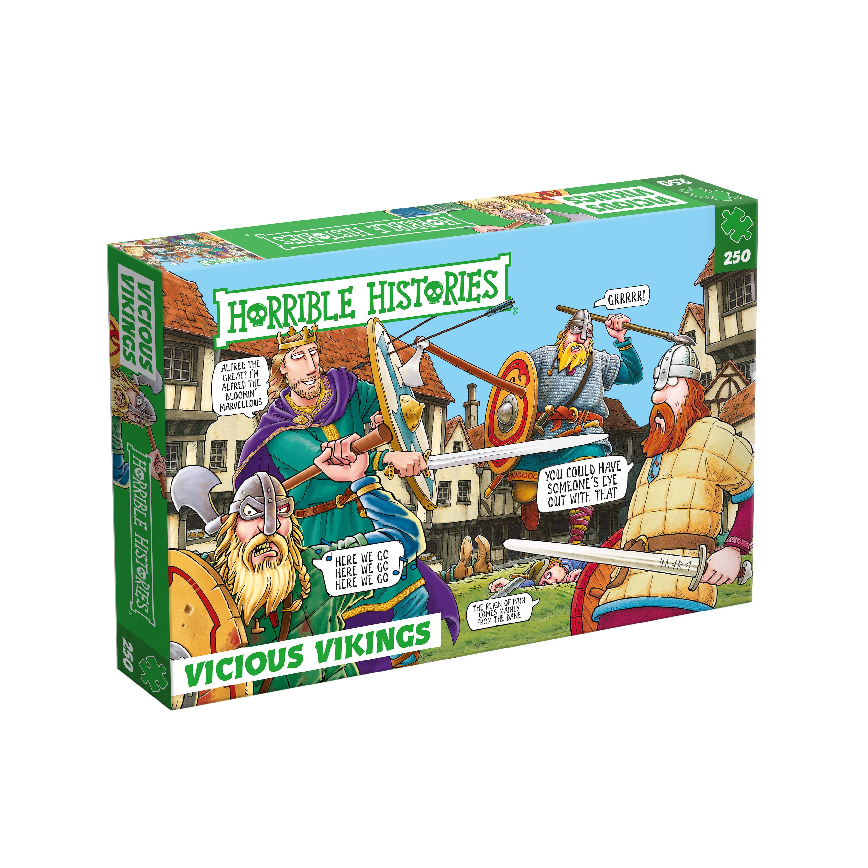 Horrible histories jigsaw puzzle (vicious Vikings)