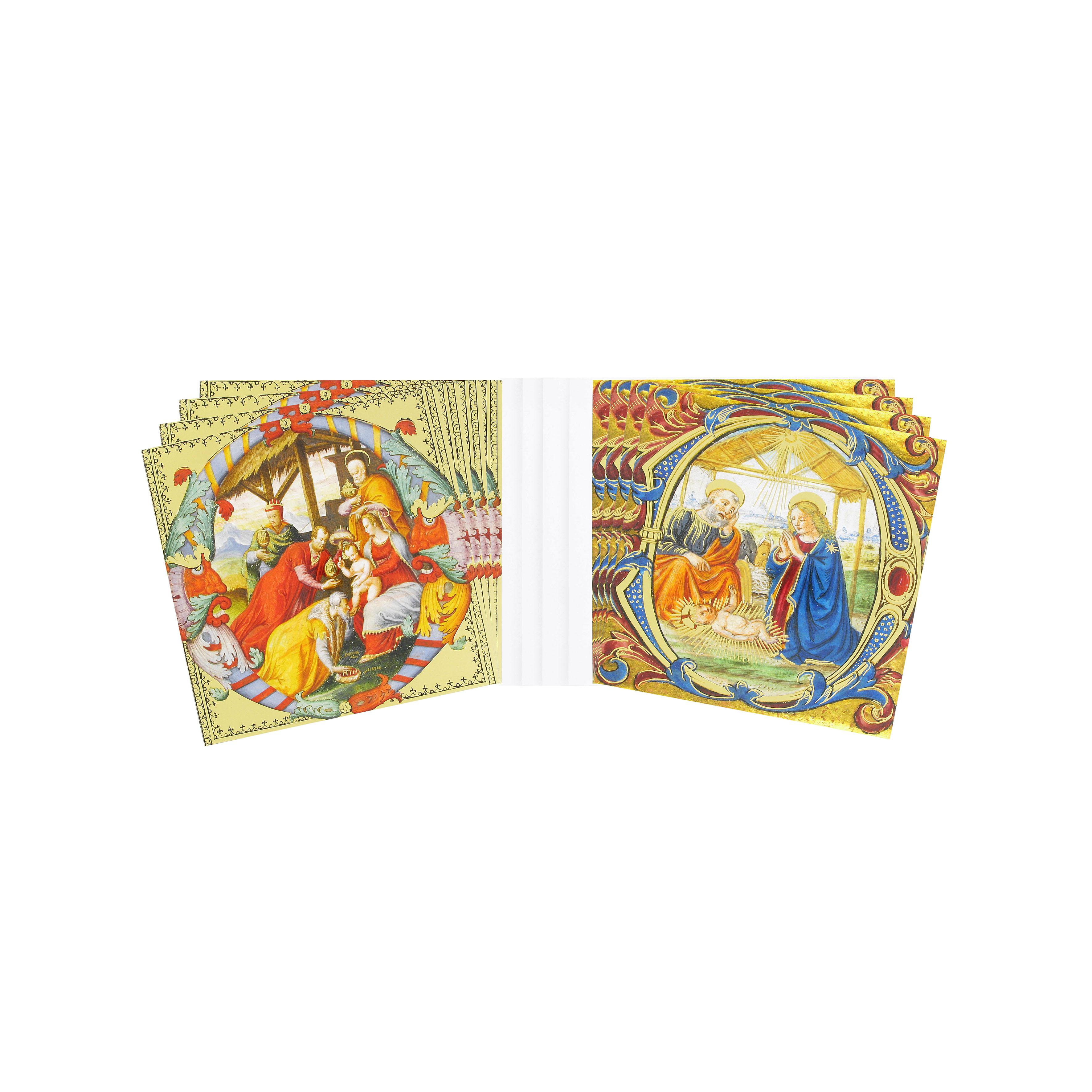 Illuminated Fitzwilliam Christmas cards